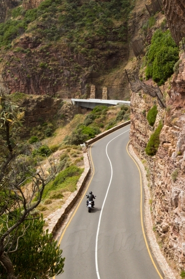 Riding on Chapmans peak