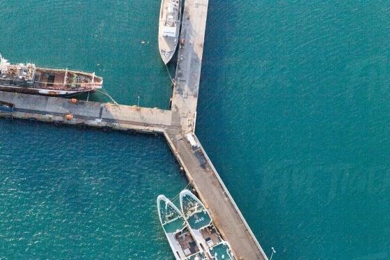 Harbour aerial shots