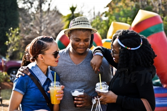 Beautiful South African people