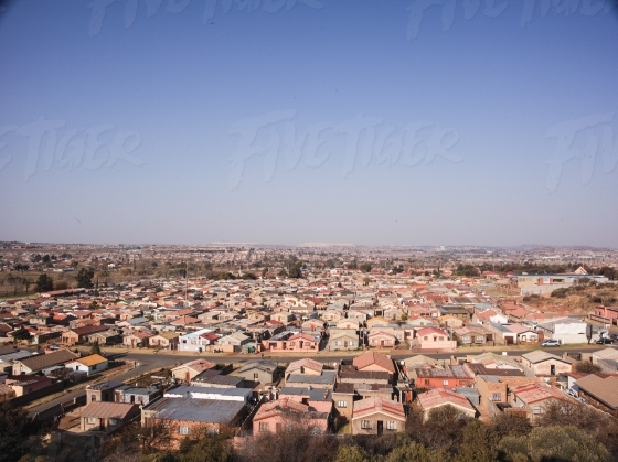 Low cost housing in Gauteng