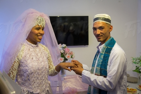 Muslim wedding celebrations