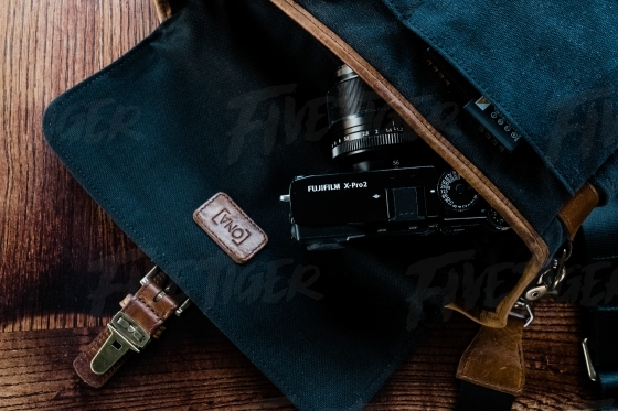 Digital camera with trendy bag