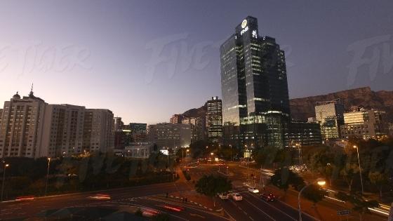 Cape Town CBD Cityscape