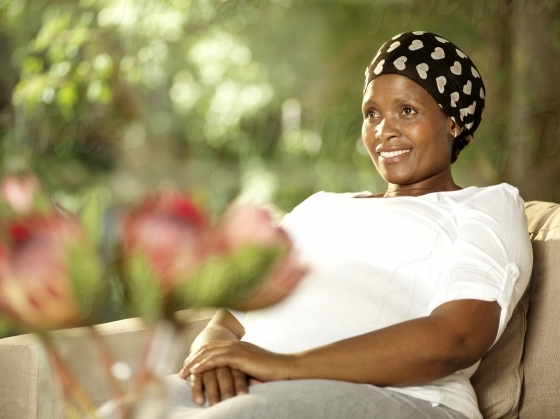 Beautiful South African women at home