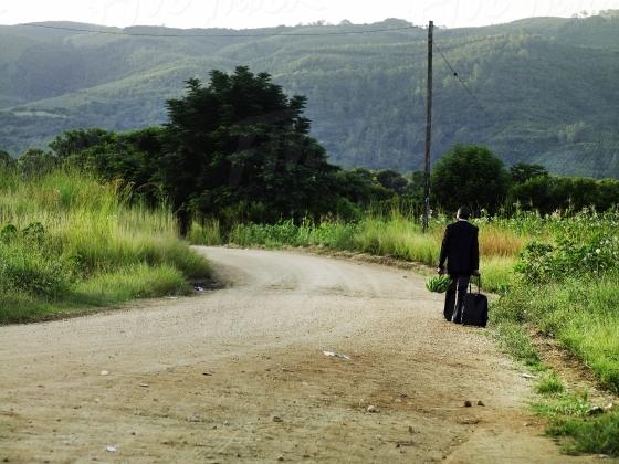 Road in rural Kwa-Zulu Natal