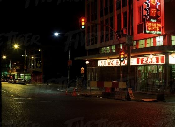 Jhb Chinatown CBD at night