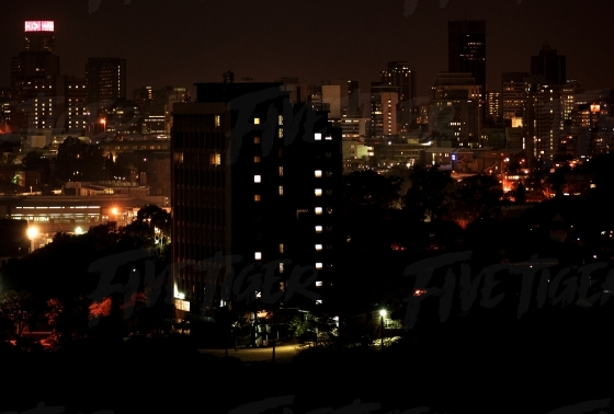 JHB skyline at night