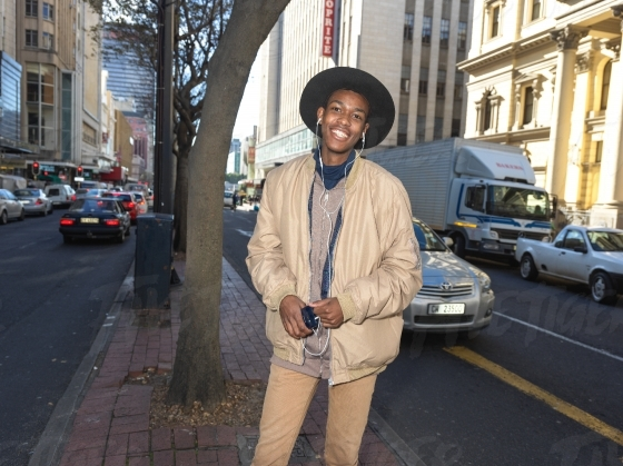 Young man in the CBD
