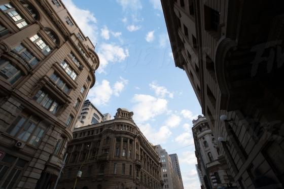 Johannesburg inner city in the day