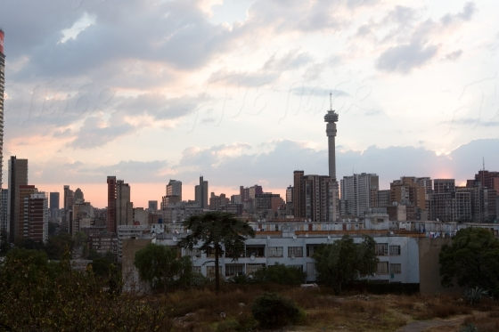 Looking over Johannesburg
