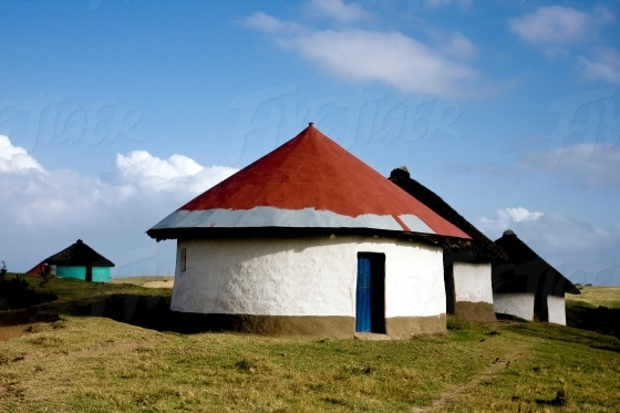 Traditional Xhosa home in the Eastern Cape