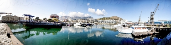 Cape Town Waterfront canals