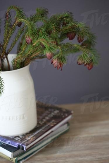 Deep red fynbos in a vase