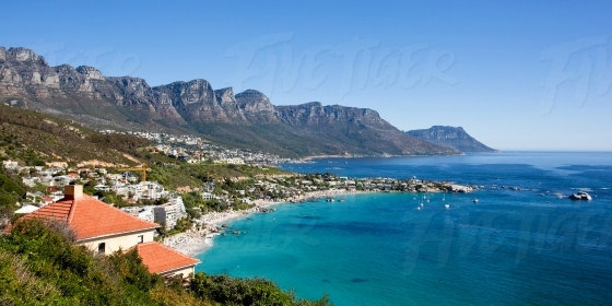 Clifton on the Atlantic Seaboard in Cape Town