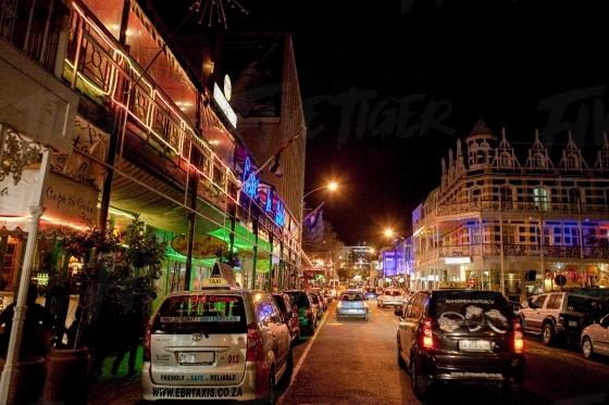 Long Street at night