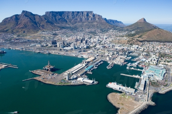 Cape Town CBD, V&A Waterfront and Harbour
