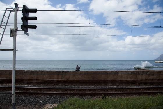 Landscape of railway lines