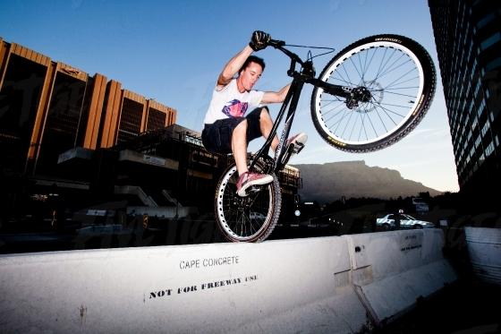 City bike tricks